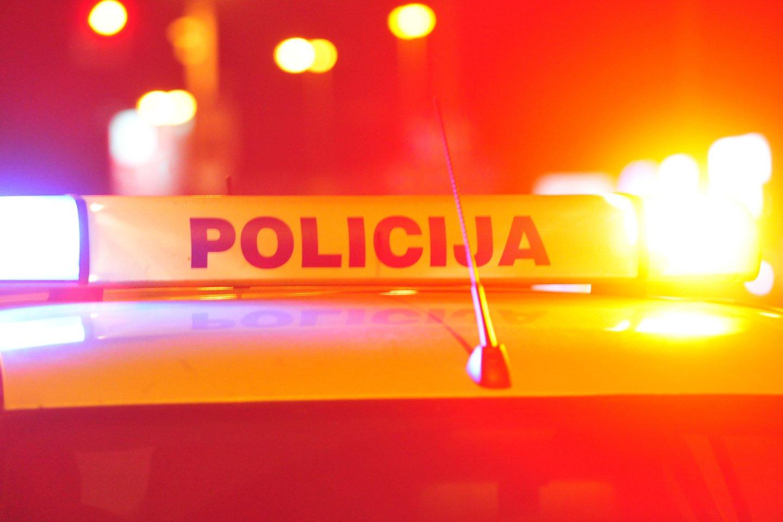Policija sulaikė įtariamąjį.<br>A.Vaitkevičiaus asociatyvi nuotr.