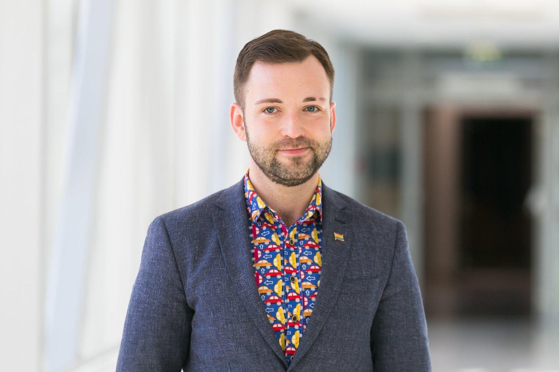 Tomas Vytautas Raskevičius.<br>T.Bauro nuotr.