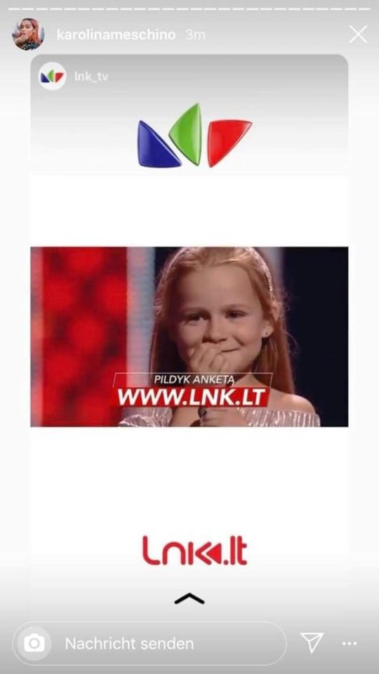 """Santa išgarsėjo dalyvaudama """"Lietuvos balsas. Vaikai"""" atrankoje.<br>Asmeninio albumo nuotr."""