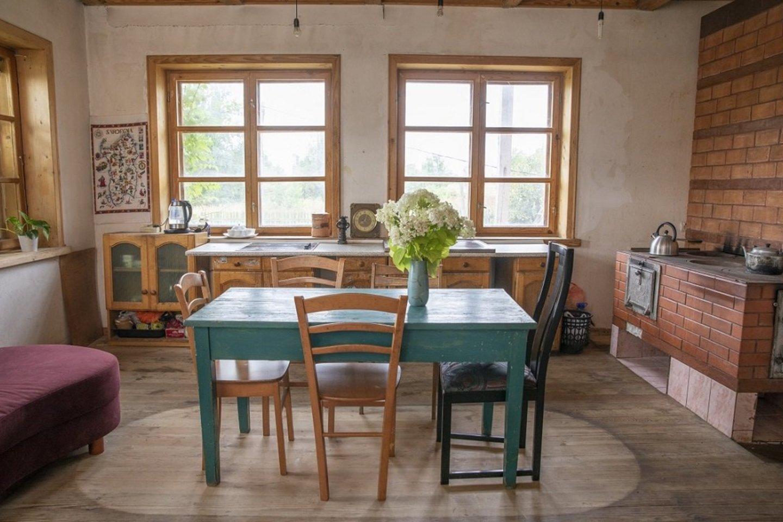 Austės ir Gyčio senelio namą padėjo atnaujinti interjero specialistė.