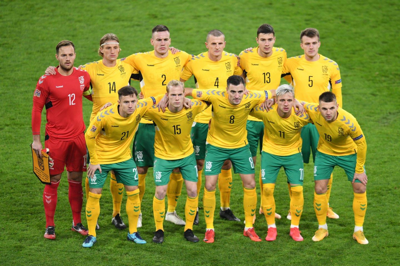 Lietuvos futbolo rinktinė<br>Reuters/Scanpix nuotr.