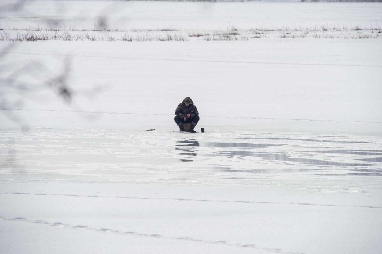 Poledinė žvejyba.<br>V.Ščiavinsko nuotr.