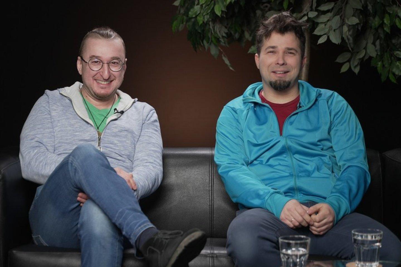 """""""Antikvariniai Kašpirovskio dantys"""".<br>""""Delfi TV"""" nuotr."""