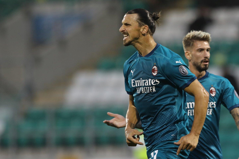 Zlatanas Ibrahimovičius.<br>Reuters/Scanpix.com nuotr.