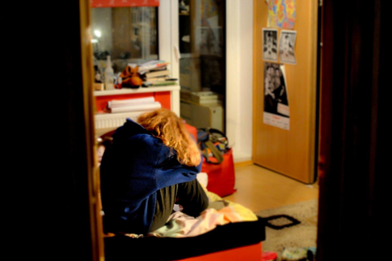 Prekybos žmonėmis istorija rutuliojosi 2013 metų spalį. 18-metė tauragiškė Londone per prievartą atsidūrė būsimo jaunikio namų rūsyje.<br>D.Piraitytės nuotr.