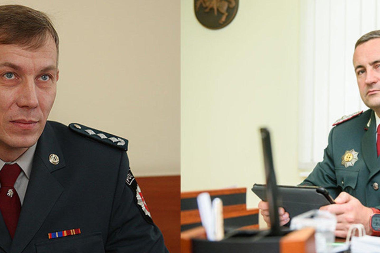 Policijos generalinis komisaras R. Požėla ir Šilutės r. PK vadovas R. Rudminas primena, kad nuo Velykų elektroninė erdvė bus stebima visą parą.<br>Šilutėsnaujienos.lt