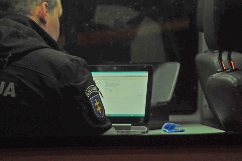 Po Velykų darbo imsis virtualus patrulis – baigsis įžeidinėtojų slėpynės.<br>A.Vaitkevičiaus nuotr.