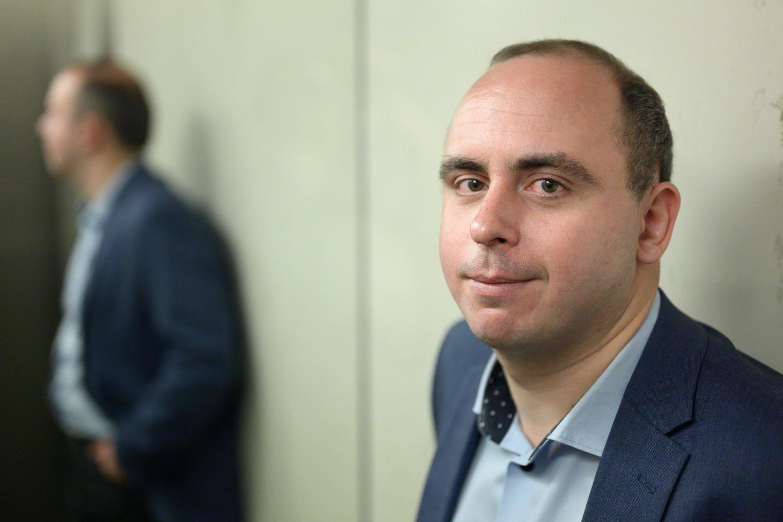 Ekonomistas Aleksandras Izgorodinas.<br>V.Skaraičio nuotr.