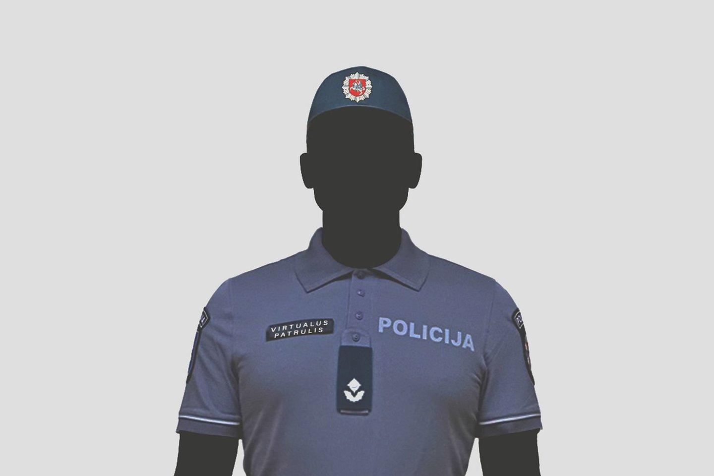Kaip jau buvo skelbta, balandžio 6 d. patruliuoti elektroninėje erdvėje pradės virtualus patrulis.<br>Lietuvos policijos iliustr.