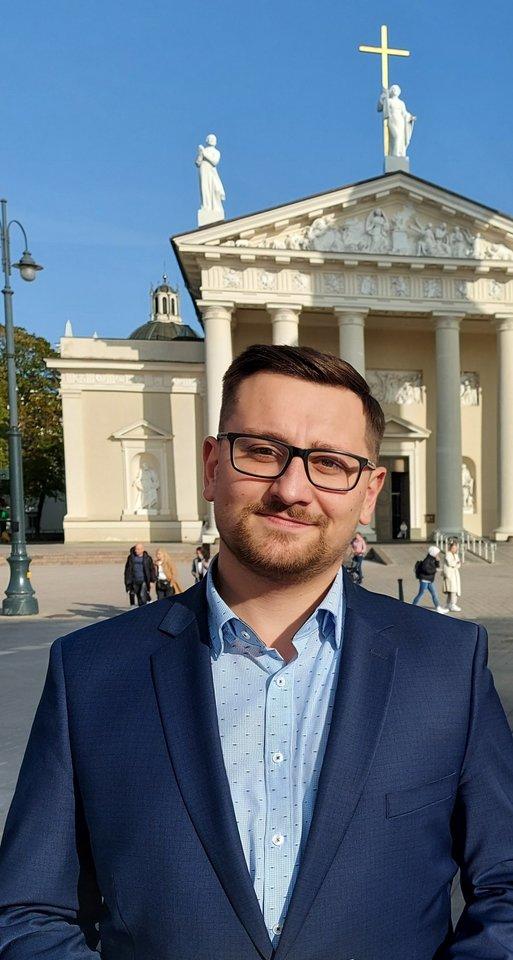 Vienas Šeškinės ozo bendruomenės narių, Laurynas Juozas Liutkus.<br>Asmeninio archyvo nuotr.