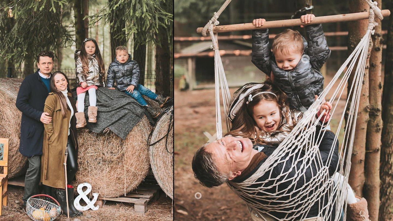 """Žvagulių šeima.<br> """"Charizma Photography"""" nuotr."""