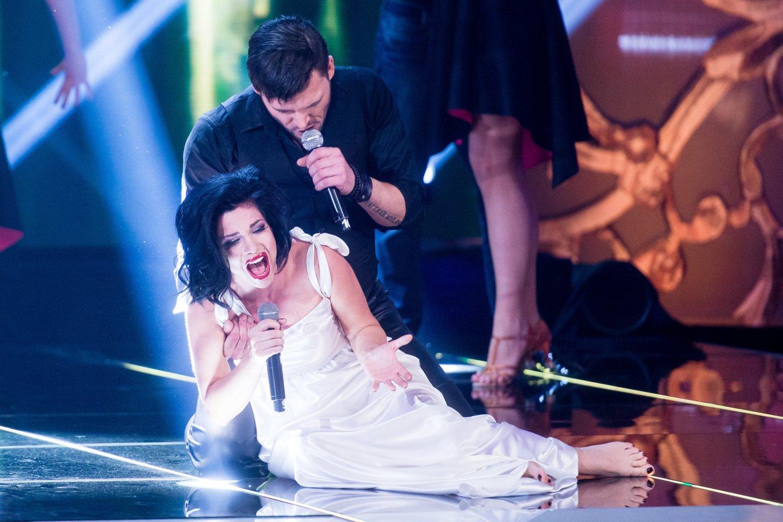 Samanta Tina dalyvavo muzikiniuose projektuose Lietuvoje.<br>J.Stacevičiaus nuotr.