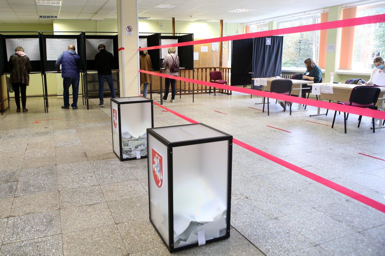 TS-LKD iniciatyva Seimo Valdybos suformuota darbo grupė antradienį pradėjo klausymus dėl Lietuvos rinkimų sistemų pokyčių.<br>M.Patašiaus nuotr.