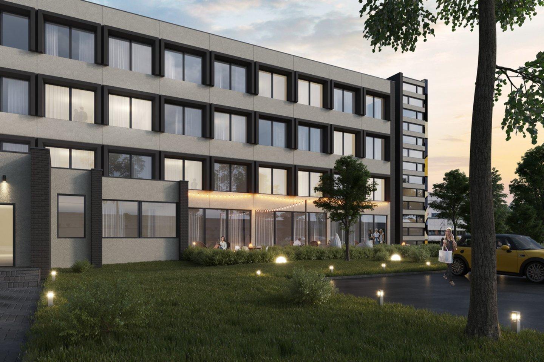 Pramonės, komercijos ir logistikos aktyvumu garsėjančiame Vilniaus Panerių mikrorajone, Kirtimų g. 51A, pristatomas nestandartinis kompaktiškų būstų ir biurų projektas.<br>Vizual.