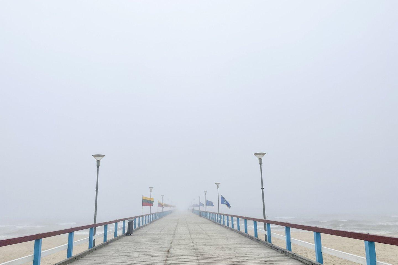 Palangos tiltas.<br>V. Ščiavinsko nuotr.