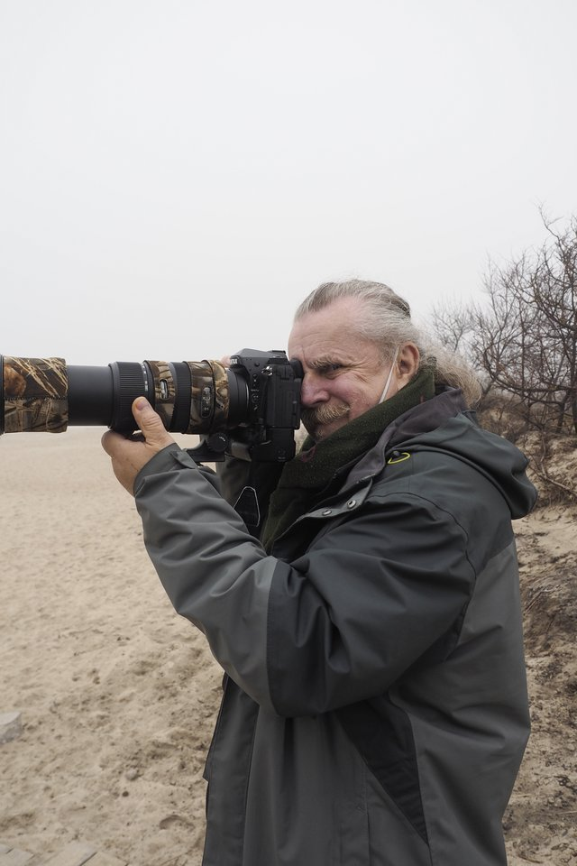 Vladui Ščiavinskui gamtos fotografija yra arčiausiai širdies.<br>Š. Meškio nuotr.