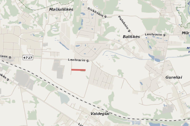 Paneriuose, Lentvario pašonėje, planuojama asfaltuoti naują Ismonių gatvės atkarpą.<br>www.madeinvilnius.lt nuotr.