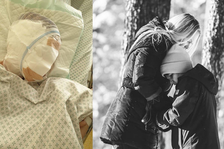 Mamai kasdien prieš akis iškyla praėjusių metų kovą įvykusios nelaimės vaizdai.<br>Asmeninio archyvo nuotr.
