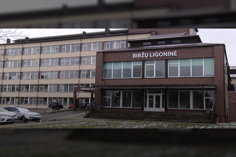 Biržų ligoninė<br>stop kadras