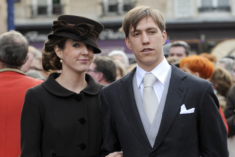 Princas su buvusia žmona.<br>AFP/Scanpix nuotr.