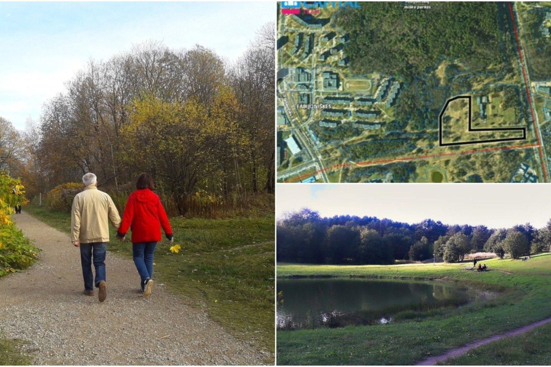 Aktyvūs vilniečiai, susibūrę į bendruomenę, ėmėsi ginti Šeškinės ozą – jiems svarbią žaliąją erdvę.<br>Julia Matiušenok / Vilniaus ozo bendruomenės nuotr.