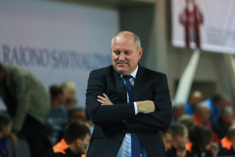V.Šeškaus treniruojama Jonavos komanda visą sezoną dominavo NKL pirmenybėse.<br>G.Bitvinsko nuotr.