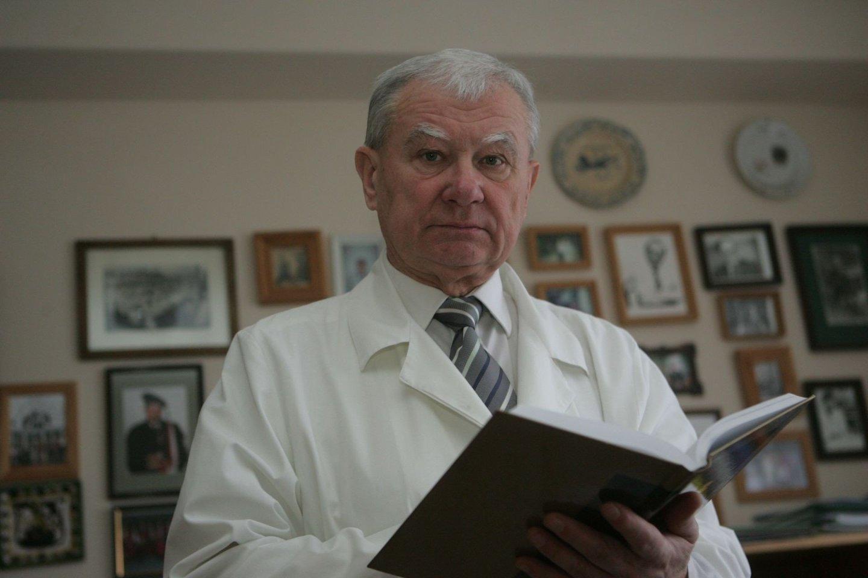 Infektologas prof. habil. dr. Alvydas Laiškonis<br>Tomo Bauro nuotr.