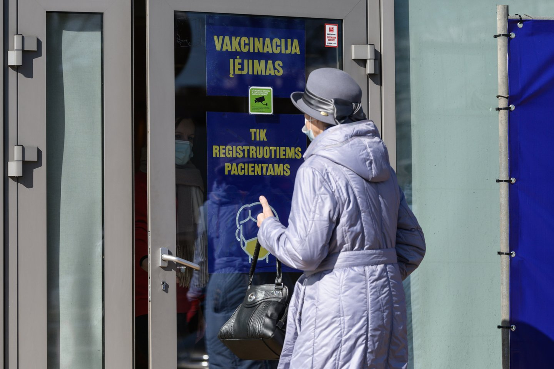Vakcinacija nuo COVID-19 Lietuvoje.<br>V.Skaraičio nuotr.
