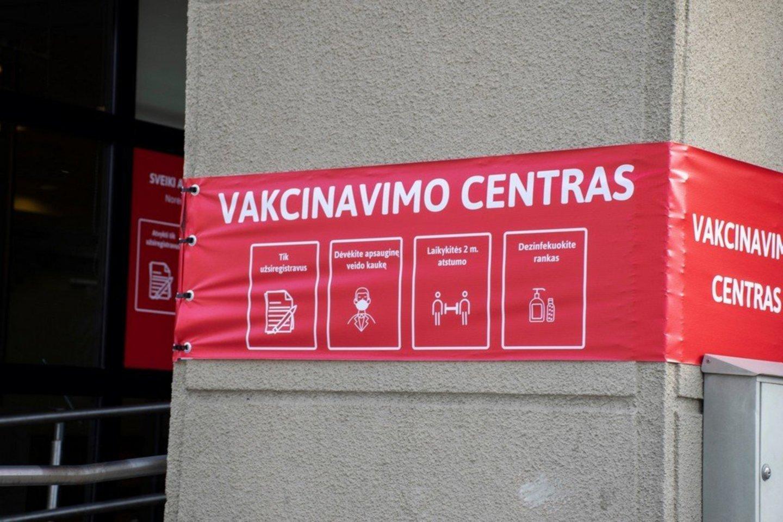 Vakcinacija nuo COVID-19 Lietuvoje.<br>R.Ančerevičiaus nuotr.