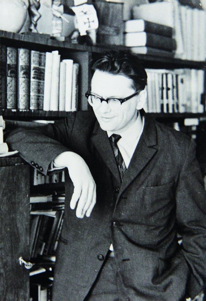 "A.Baltakis – žurnalo ""Pergalė""redaktorius. 1968 m.<br>Nuotr. iš asmeninio albumo"