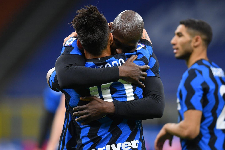 "Milano ""Inter"" artėja prie titulo.<br>Reuters/Scanpix nuotr."