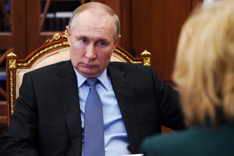 V. Putinas.<br>Reuters/Scanpix nuotr.