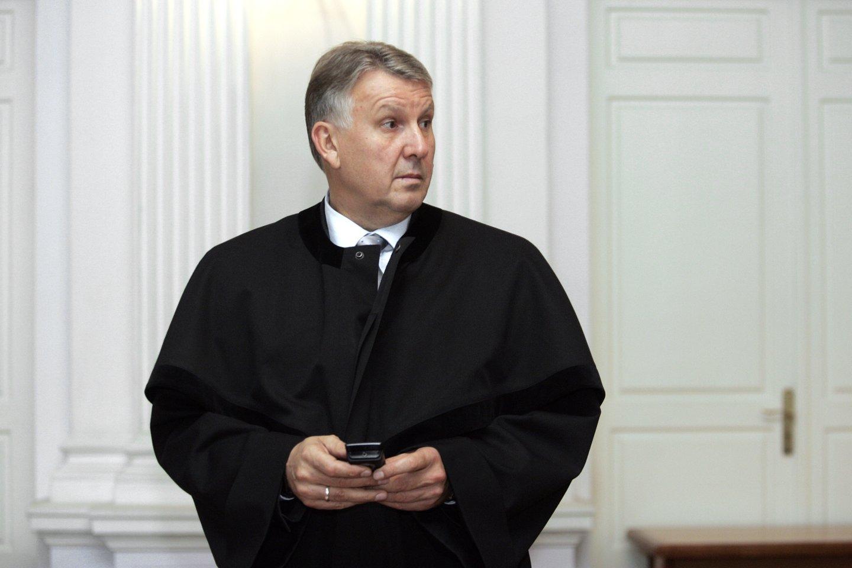 Advokatas D.Zagreckas iš pagrindinio įtariamojo staiga tapo liudytoju.<br>V.Balkūno nuotr.