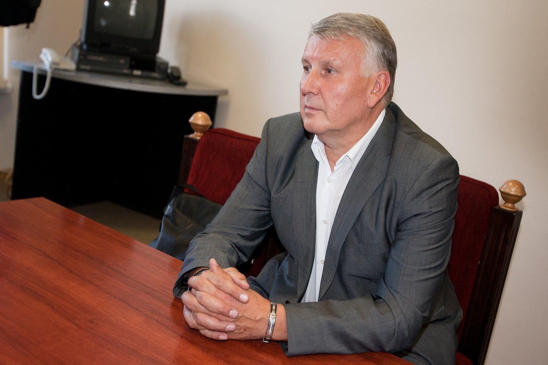 Advokatas D.Zagreckas iš pagrindinio įtariamojo staiga tapo liudytoju.<br>J.Stacevičiaus nuotr.