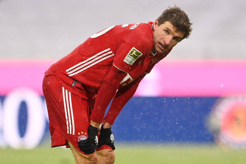 Th.Mulleris apgailestavo dėl neišnaudotų progų.<br>Reuters/Scanpix nuotr.
