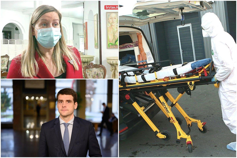 Pandemija dar labiau paaštrino sveikatos sistemos bėdas.<br>lrytas.lt koliažas