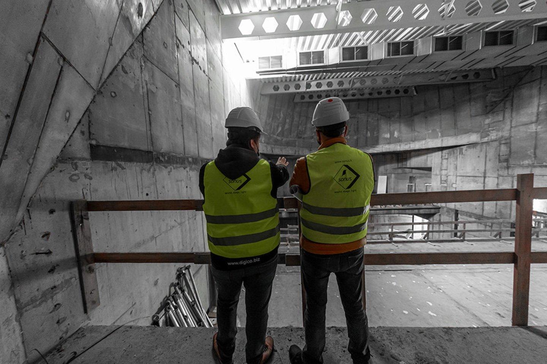Druskininkų kultūros centro statybos ir technologijų darbai.