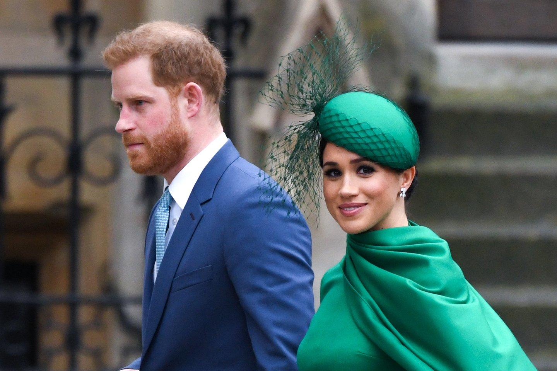 """Karališkosios šeimos biografė prakalbo apie kritikuojamą Meghan Markle: """"Ji norės grįžti ir kovoti"""".<br>Scanpix/PC nuotr."""