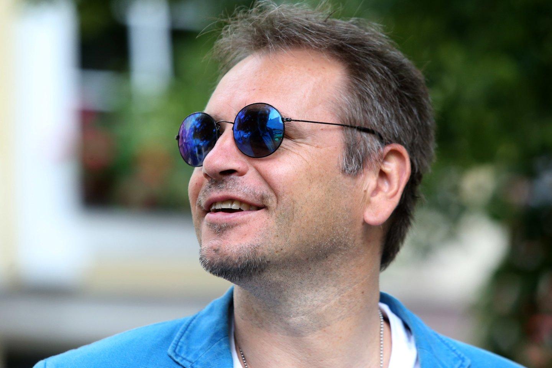 M.Mikutavičius yra iš tų vairuotojų, kuriems patinka vairuoti.<br>R.Danisevičiaus nuotr.