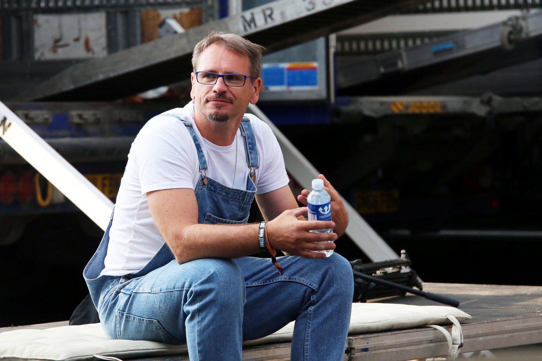 M.Mikutavičius yra iš tų vairuotojų, kuriems patinka vairuoti.<br>M.Patašiaus nuotr.