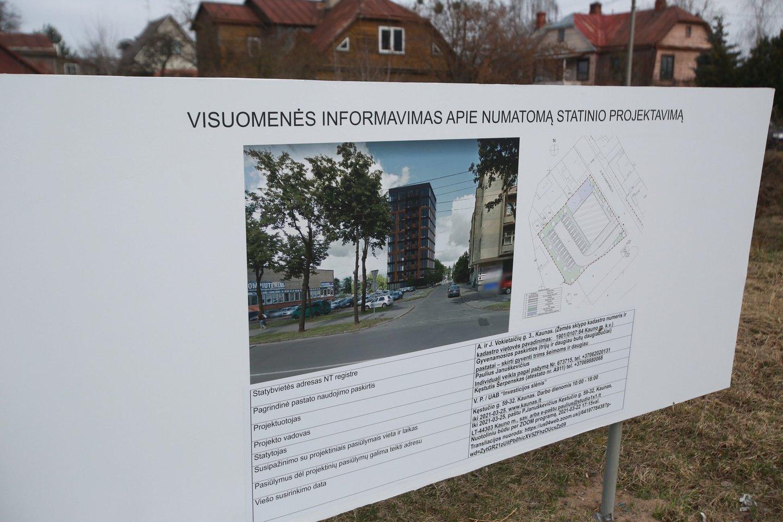 Gyventojai mano, kad statyti daugiaaukštį šioje vietoje – nevykęs sumanymas.