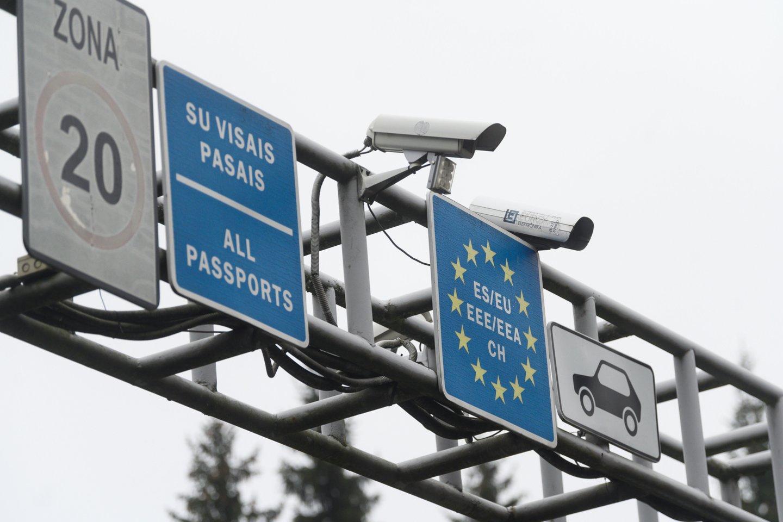 Išvykimo mokestis taikomas visoms transporto priemonėms, kurių maksimalus svoris neviršija 5 tonų.<br>V.Skaraičio nuotr.