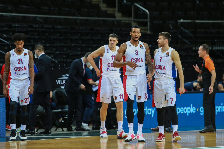 Maskvos CSKA ekipa.<br>G.Bitvinsko nuotr.