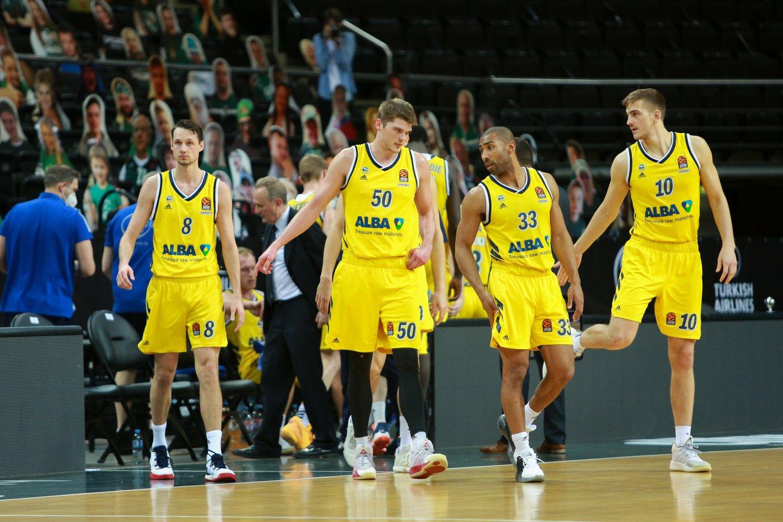 Berlyno ALBA ekipa.<br>G.Bitvinsko nuotr.