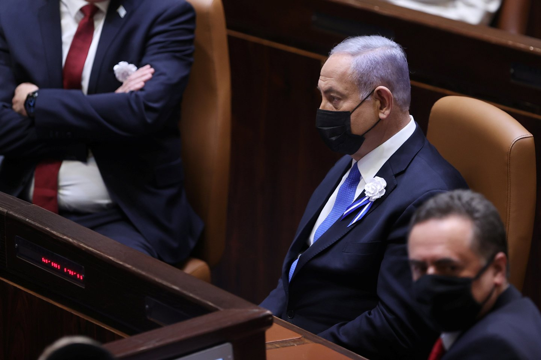 Izraelio premjeras Benjaminas Netanyahu.<br>Reuters/Scanpix nuotr.