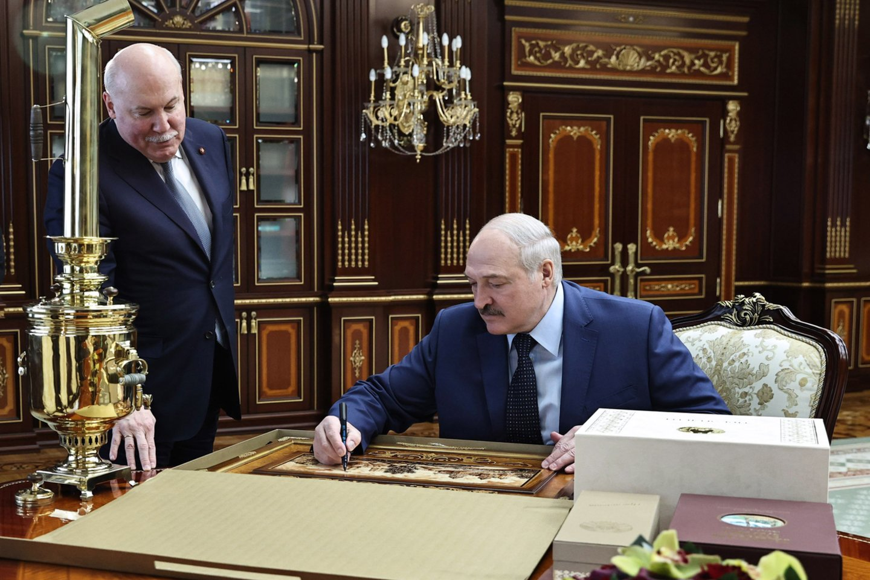 A.Lukašenka.<br>TASS/Scanpix nuotr.