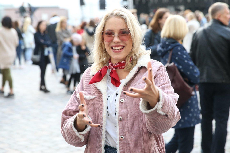 Monika Pundziūtė-Monique.<br>R.Danisevičiaus nuotr.