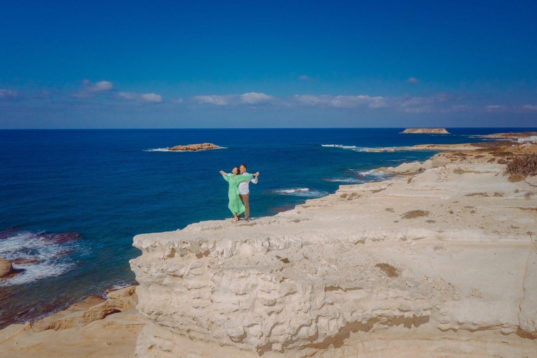 """Dainos """"Kai žodžių nebėra"""" vaizdo klipą Eugenijus Chrebtovas filmavo Kipre.<br>Nuotr. iš asmeninio archyvo"""