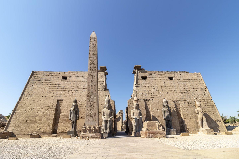 Archeologai miesto dykumoje netoli Luksoro liekanas pradėjo atkasti 2020 metų rugsėjį. Nuotraukoje - Luksoro šventykla.<br>123rf nuotr.