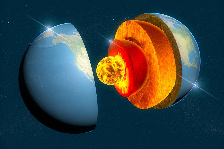 Manoma, kad Žemėje yra pakankamai šilumos žmonių energijos poreikiams tenkinti maždaug milijardui metų – arba kol Saulė taps supernova: priklauso nuo to, kas įvyks anksčiau.<br>123rf iliustr.